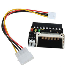 3 LEDS Compact Flash CF SSD To 3.5 Inch ATA IDE Adapter