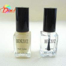 6ml/pc Nail Polish Base Coat & Top Coat For Acrylic Professonal Nail Art 2pcs/lot Easy To Clear