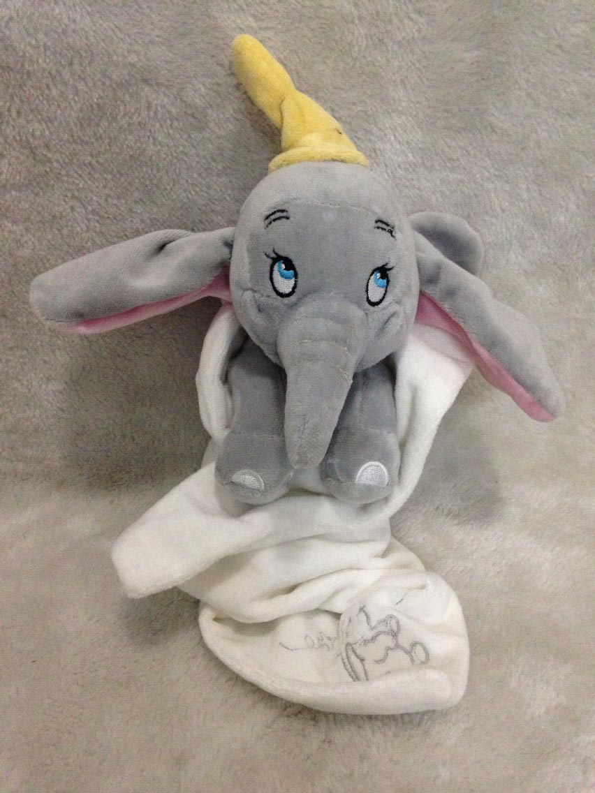 Baby Dumbo in a Blanket Plush Doll NEW 20cm Dumbo Plush Toys<br><br>Aliexpress