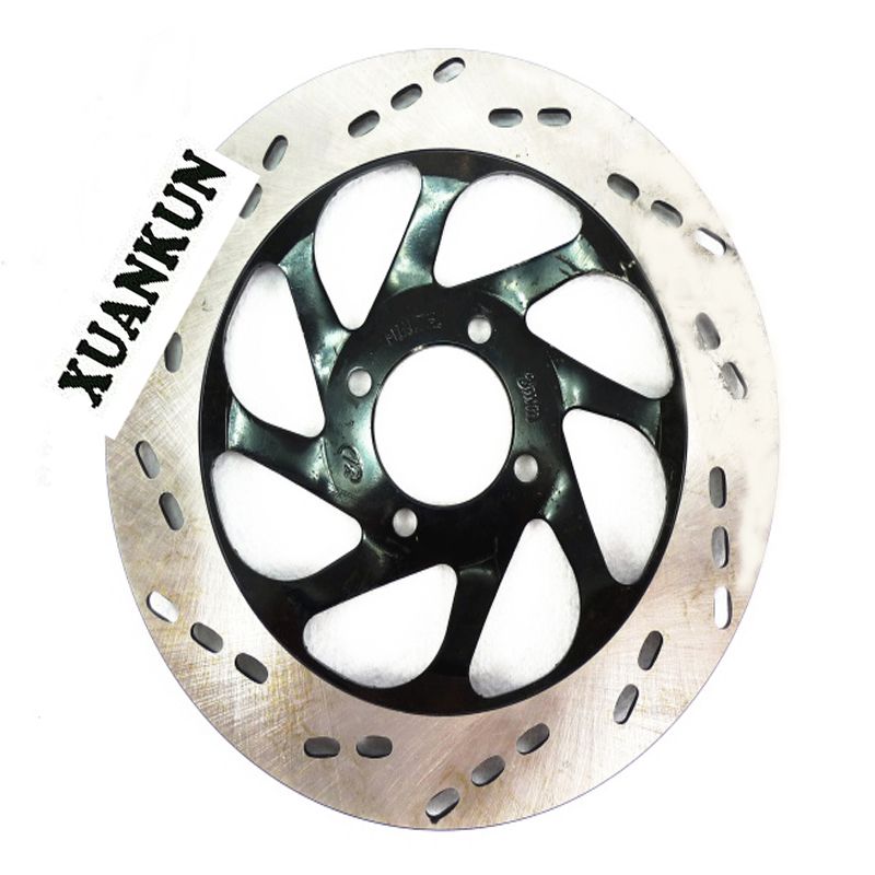 XUANKUN Motorcycle Parts Modified Oil Brake Increase Brake Disc Diameter 240mm<br>