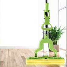 341231/Household flat mop/Suspended design/Strong absorbent sponge head/Rapid dehydration/Joint design/Easy to clean