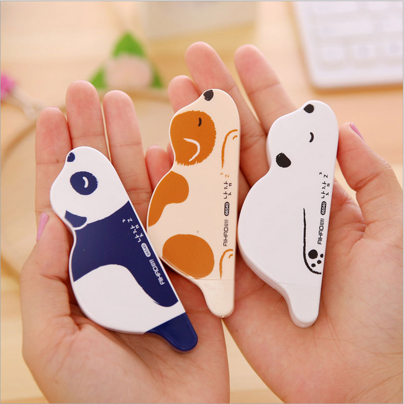 1 x creative umbrella correction tape Kawaii stationery Learning office appliance escolar child kawaii gift 6M Free shipping