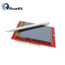 LCD module TFT 2.4 inch TFT LCD screen for Arduino UNO R3 Board and support mega 2560 with gif Touch pen(China)