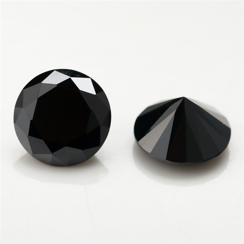 4mm~16mm Round-Black-Cubic-Zirconia-5 (4)