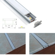 15sets/pack ;1m /2m each SDW 1909 flat aluminum profile channel led for floor