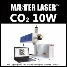 Good Quality Good Service 10w CO2 Laser Marking Machine Synrad 10W RF Laser with Industrial Computer Laser Engraving Machine