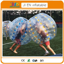 11pcs for 1.2m kids+one free air blower,giant human inflatable bumper bubble ball  for football,inflatable ball suit