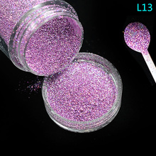 Tracy Simple Nail 1 Bottle Nail Art Glitter Powder Dust Light Pink Gem Pigment Dazzling Fine Sequins Shimmer Makeup Tools TRL13(China)