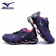 Mizuno Original Wave Prophecy 6 фиолетовая женская обувь кроссовки сетка  Тяжелая атлетика обувь 4 цвета размер d3bcd2a47c5