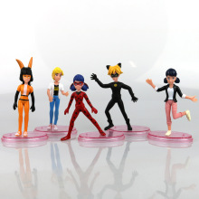 Factory Price 5pcs/set Cartoon 11CM Miraculous Ladybug Model Collection Action Figure Toys for Children Gift