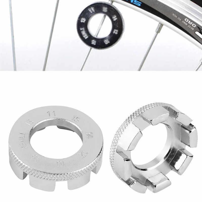 8 Way Spoke Spanner Key Wrench for MTB Bikes Cycle repair Tool Wheel Tightener