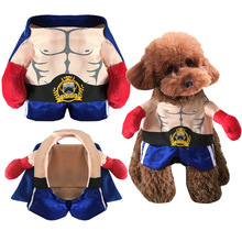Halloween Costume Pet Cat Dog Clothes Pet Champion Boxer Coat for Chihuahua Yorkshire Puppy Hoodie XS-XL(China)