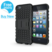For Fundas iPod Touch 5 Case Hybrid Heavy Duty shockproof Armor Cases For Apple iPod Touch 6 Cover Protective shell Coque 4.0''
