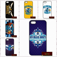 New Orleans Hornets NOK Logo Cover case for iphone 4 4s 5 5s 5c 6 6s plus samsung galaxy S3 S4 mini S5 S6 Note 2 3 4   DE0314