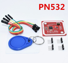 10Set PN532 NFC RFID Wireless Module V3 User Kits Reader Writer Mode IC S50 Card PCB Attenna I2C IIC SPI HSU Arduino