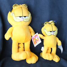 100%Orignal Garfield Cat Plush Stuffed Toy High Quality Soft Plush Figure Doll Free Shipping