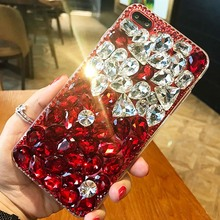 Buy Bling Diamond case Samsung Galaxy Alpha G850 grand prime G530 CORE 2 Grand neo i9060 Rhinestone fox Coque fundas lip Capa for $8.99 in AliExpress store