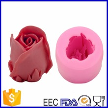 3D Rose Shape Silicone Mold Rose Soap Dye Candle Mold Cake Tool  Fondant Cake Decorating Clay DIY Tool  Factory Derict Sale
