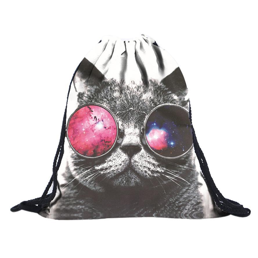 Best Gift Wholesale Unisex Emoji Backpacks 3D Printing Bags Drawstring Backpack Jan19<br><br>Aliexpress