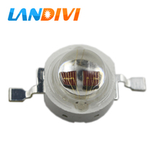 10pcs Full 3W led diode yellow&orange&red LED bulb2 chips 590nm 610nm 630nm 660nm 3w high power led light for plant grow light