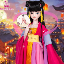Ucanaan 1/3 BJD/SD Doll Antiquity Palace Toys Offer Make Up And Agility Joints High Quality Fashion Cosplay Handmake Toys