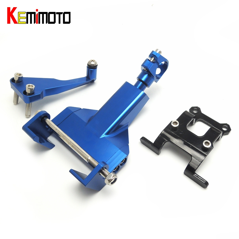 For Yamaha MT-07 FZ-07 Steering Damper Mounting Bracket Kit for YAMAHA MT07 FZ07 2014 2015 2016 FZ MT 07 100% Brand New<br>