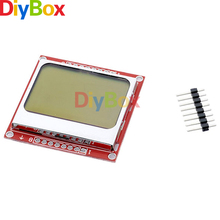 84X48 84*48 LCD Module With Blue Backlight Adapter PCB For Nokia 5110 For Arduino(China)