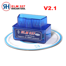 2017 Wireless V 2.1 Super Mini ELM327 Bluetooth OBD2 OBDII Bluetooth Elm 327 Car Diagnostic Scanner Works on Android/PC(China)