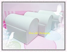 100pcs FREE SHIPPING-- HOT  White Wedding Treasure Chest Favor Boxes,Candy Box, Gift Box (JCO-411a)