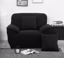 Dark Color Sofa cover flexible Stretch Big Elasticity Couch Sofa Furniture Cover Machine Washable Arm Elastic Chair Slipcover(China)