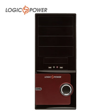 LOGIC POWER desktop computer  case New Arrivals 80mm FAN, CD-ROMx2, HDDx1,  PCIx7, USBx2, AUDIO In / Out #3931