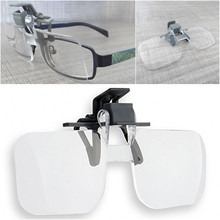 Plastic glasses 2X Magnifying Eyewear Magnifiers glass(China)