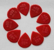 wholesale 100 pcs, Jazz III guitar picks, nylon jazz guitar picks