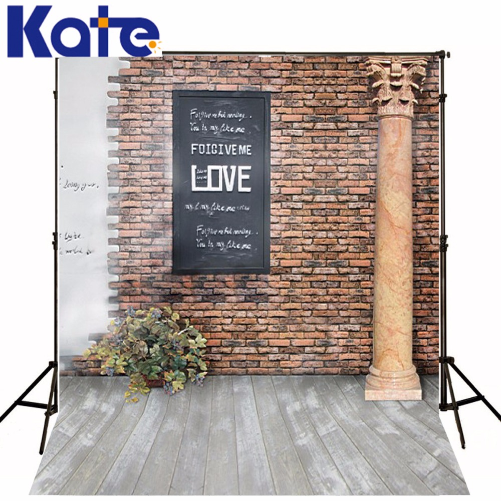 New Arrival Background Fundo Words Blackboard Brick 300Cm*200Cm(About 10Ft*6.5Ft) Width Backgrounds Lk 2685<br>