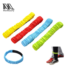 4 Pcs Two People Three-legged Ropes Elastic Sport Tie Rope Foot Running Race Game Children Kids Cooperation Funny Outdoor Game(China)