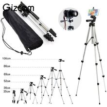 Gizcam Professional Foldable Extendable Aluminum mini Tripod Mount Stand Mobile Phone Digital Cameras Camcorder Tripods(China)