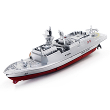 RC Boat Mini Warship 2.4G 4CH Remote Control Challenger Aircraft Carrier High-Speed Ship For Kids Hobby Toys