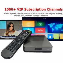 Swedish Arabic IPTV Box Support 1100 Plus IPTV Europe German Spanish Africa India Somali Tunisia Turkish USA ECT LIVE TV(China)