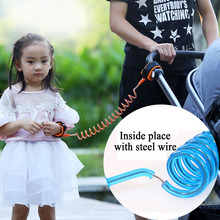 1.5m-2.5m Adjustable Toddler Baby Kids Safety Anti-Lost Wrist Leash Strap Belt Child Safety Hand Belt Baby Walking Harness Leash(China)