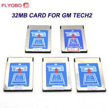 High Quality 32MB CARD FOR G M TECH2,Holden/Opel/G M /SAAB/ISUZU/Suzuki 32 MB Memory for opel Tech 2 Free Shipping(China)
