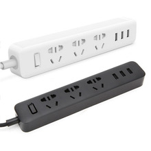 100% Original Xiaomi Charger Power Strip Socket Standard Extension Socket Plug Multifunctional Smart Power Strip Home Electronic