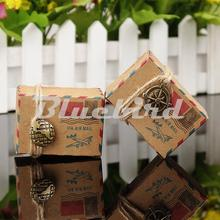 Brown Kraft Vintage Inspired Favor Box Paper Candy Boxes Wedding Favors And Gifts Box Decoration Party Event Supplies For Guests