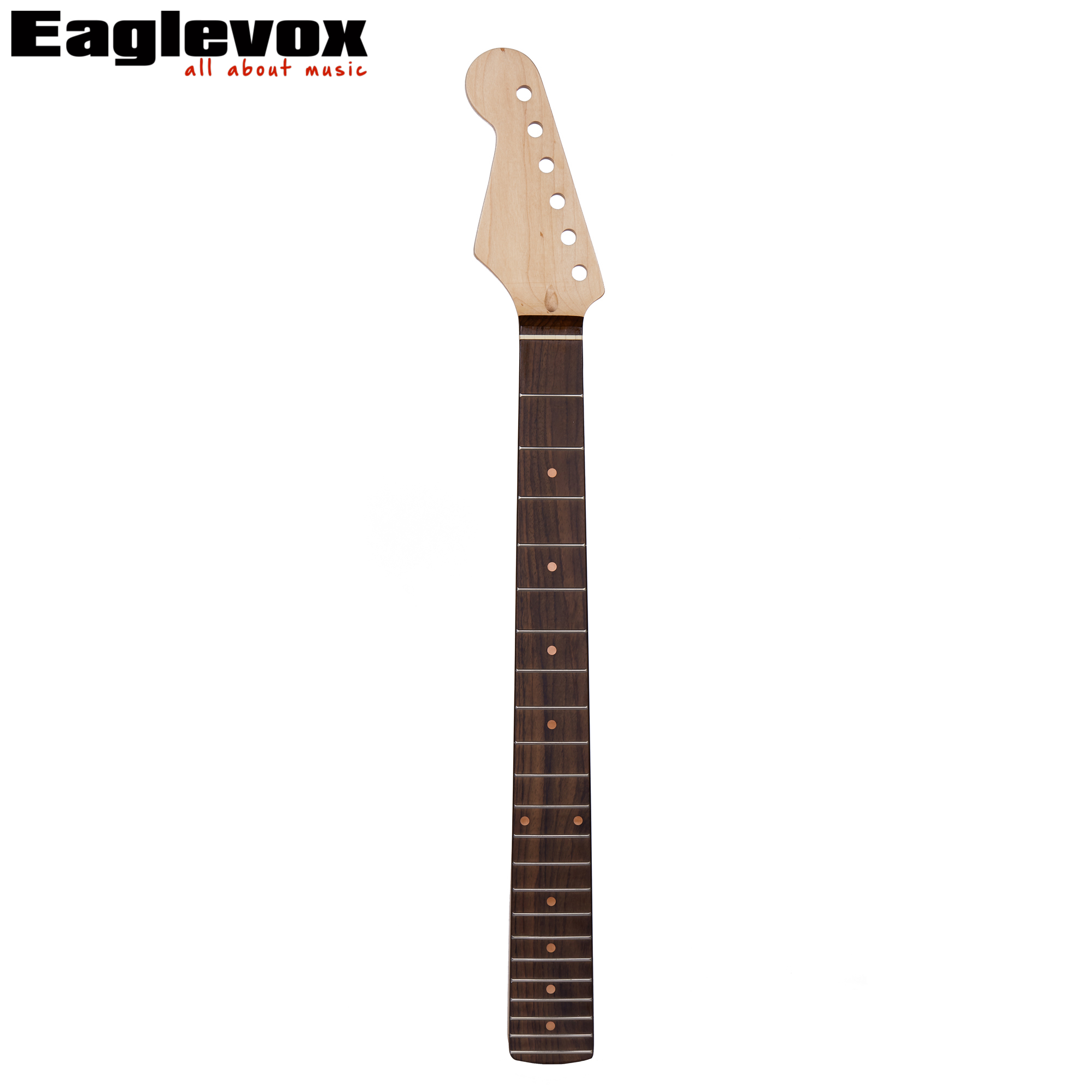 Electric Left Handed Guitar Neck Rosewood fingerboard Made of Maple 10mm Head Machine Peg Hole 22 frets<br>