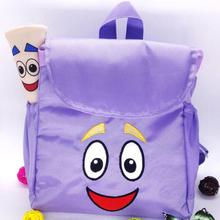Hot Festivals Party Supplies schoolbag Love Adventure Dora Explorer Backpack Rescue Bag & Map Party Gift Plush Bag(China)