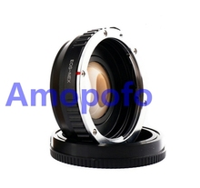 Buy Amopofo EF-NEX Focal Reducer Speed Booster Adapter Canon EF mount Lens Sony NEX E A6000 A5000 for $82.90 in AliExpress store