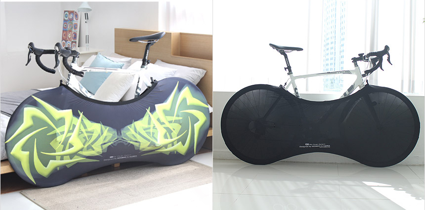 Road//Mountain Bike Flexible Storage Bag Cover Dust Proof Bicycle Protector Cover