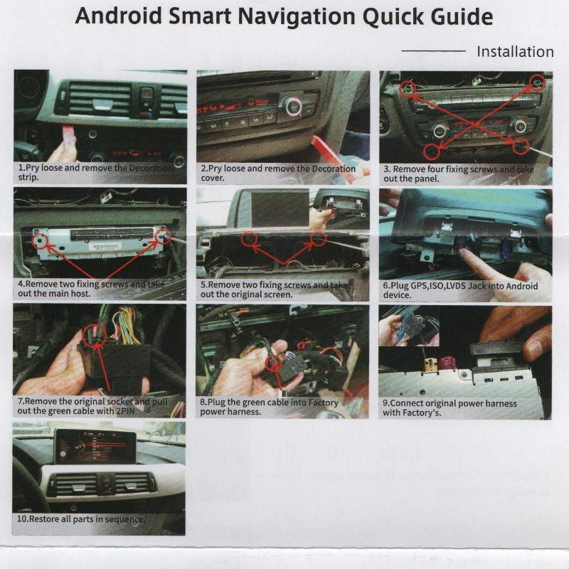 For BMW 7 F03 F04 F01 F02 NBT 2013~2015 LiisLee Multimedia GPS Audio Hi-Fi Radio Stereo Original Style For NBT Navigation NAVI 1