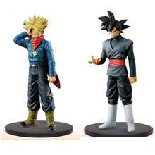 Original Banpresto Dragon ball Z DBZ SSY DXF Trunks  Black Goku PVC Figure Juguetes Brinquedos Dolls Toys Vol.2