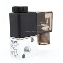 DC 24V 4.8W Two Position Three Way Pneumatic Control Air Solenoid Valve 3V1-06(China)