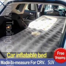 DHL Free Shipping SUV  Car Travel Inflatable Mattress Car-covers Inflatable Car Air Bed Waterbed Mattress For Family Enjoy